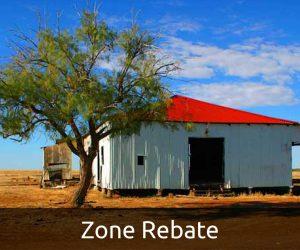 Zone Rebate